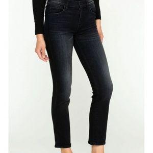 Hudson Nico Midrise Straight Crop Jean in Prolong